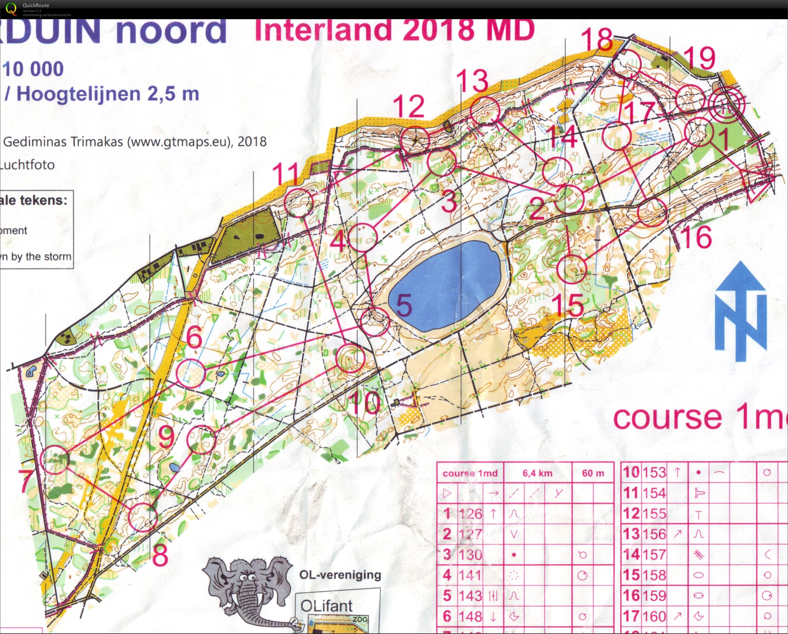 Interland 2018, race 2: MD (10/03/2018)
